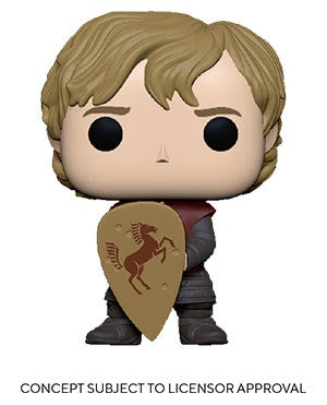 Pop! TV TYRION w/SHIELD (Game of Thrones)(Available for Pre-Order)