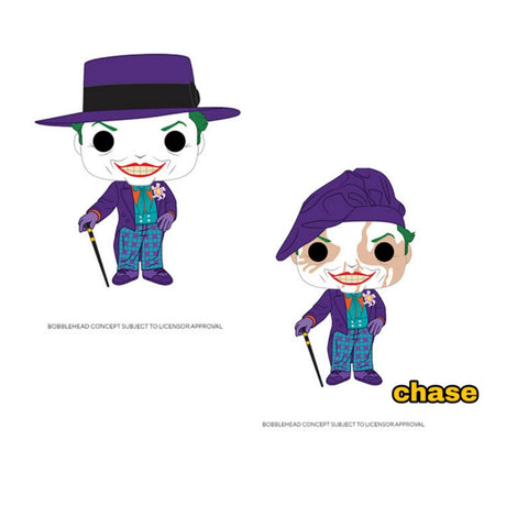 Funko Pop! Heroes JOKER w/Hat w/Chase Variant (Batman 1989)(Available for Pre-Order)