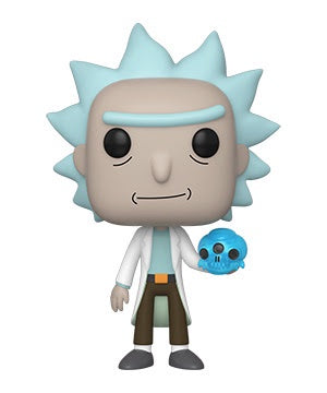 Funko Pop! Animation RICK w/CRYSTAL SKULL (Rick & Morty)(Available for Pre-Order)