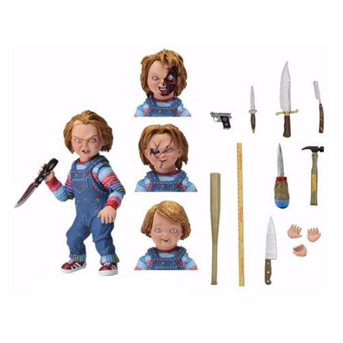 Neca Child's Play ULTIMATE GOOD GUYS CHUCKY - Brads Toys
