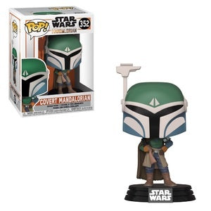 Funko Pop! Star Wars  #352 COVERT MANDALORIAN (The Mandalorian) - Brads Toys