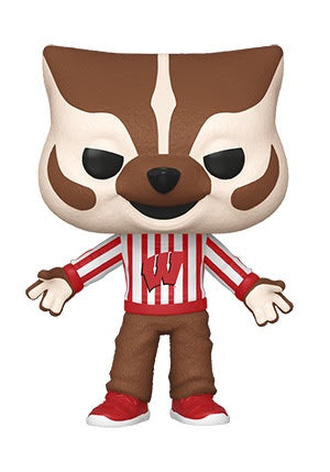 Funko Pop! College BUCKY BADGER (University of Wisconsin) - Brads Toys