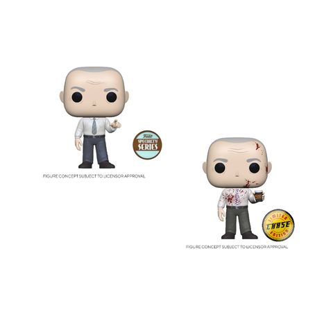 Pop! TV CREED w/Bloody Chase Specialty Series Exclusive (the Office)(Available for Pre-Order)