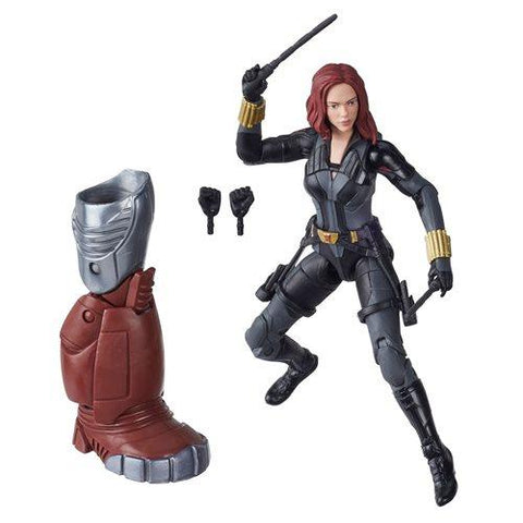 Marvel Legends Crimson Dynamo Series BLACK WIDOW (Black Widow 2020)
