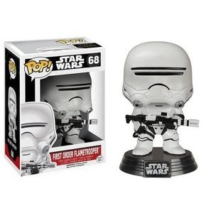 Funko Pop! Star Wars #68 FIRST ORDER FLAMETROOPER (The Force Awakens) - Brads Toys