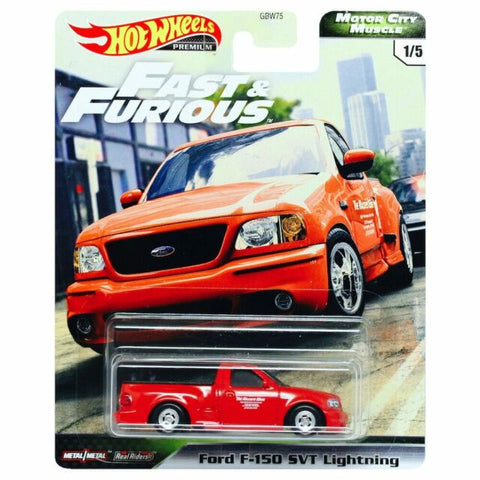 Hot Wheels Premium Motor City Muscle FORD F150 SVT LIGHTNING (Fast & Furious)