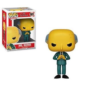 Funko Pop! Television #501 MR. BURNS (The Simpsons) - Brads Toys