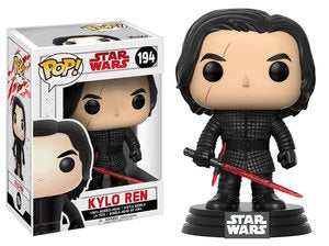 Funko Pop! Star Wars #194 KYLO REN (The Last Jedi) - Brads Toys