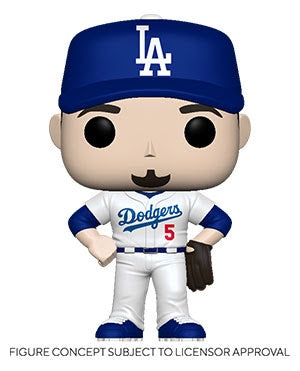 Pop! MLB COREY SEAGER Home Uniform (LA Dodgers)(Available for Pre-Order)