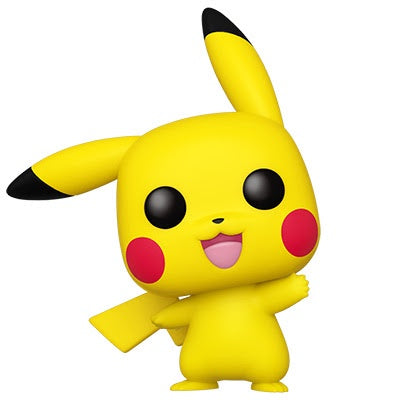 Funko Pop! Games PIKACHU WAVING (Pokemon)(Available for Pre-Order)