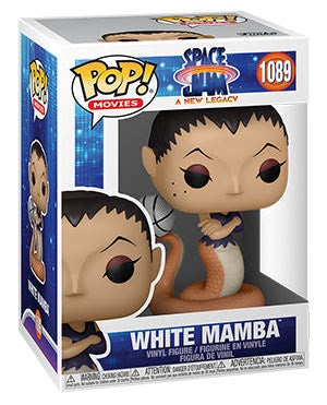 Pop! Movies WHITE MAMBA (Space Jam)(Available for Pre-Order)