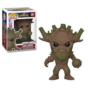 Funko Pop! Games #297 KING GROOT (Contest of Champions) - Brads Toys