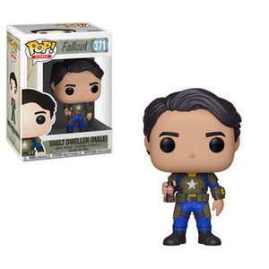 Funko Pop! Games #371 VAULT DWELLER MALE (Fallout) - Brads Toys