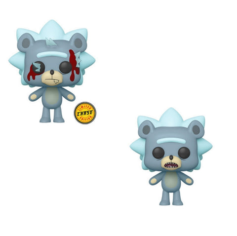 Funko Pop! Animation TEDDY RICK w/Chase Variant (Rick & Morty) - Brads Toys