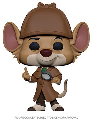 Funko Pop! Disney BASIL (Great Mouse Detective)(Available for Pre-Order) - Brads Toys