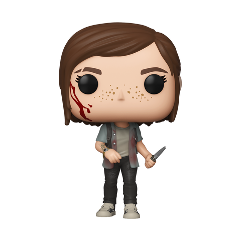 Pop! Games ELLIE (The Last of Us Part 2)(Available for Pre-Order)
