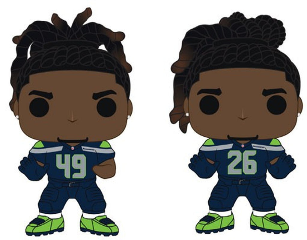 Funko Pop! NFL THE GRIFFIN BROTHERS 2-Pack (Seattle Seahawks) - Brads Toys