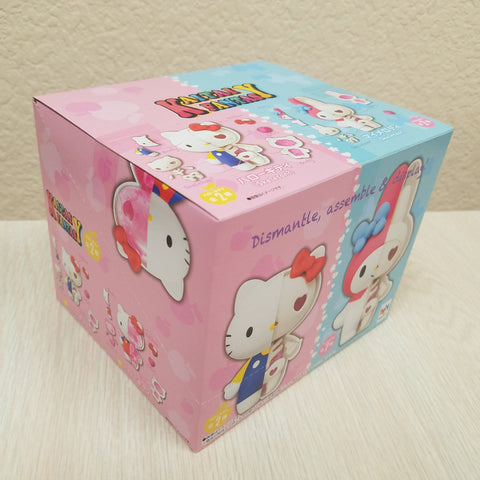 Sanrio Kaitai Fantasy HELLO KITTY & MY MELODY X-Ray Mini Statue Case of 4