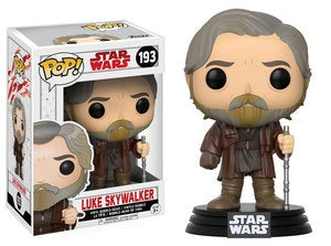 Funko Pop! Star Wars #193 LUKE SKYWALKER (The Last Jedi) - Brads Toys