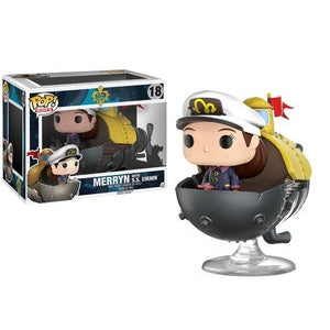 Funko Pop! Rides #18 MERRYN with S.S. Eirnin (Song of the Deep) - Brads Toys