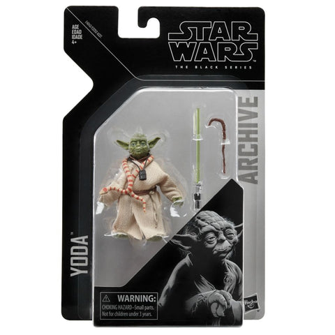 Star Wars The Black Series Archive YODA - Brads Toys