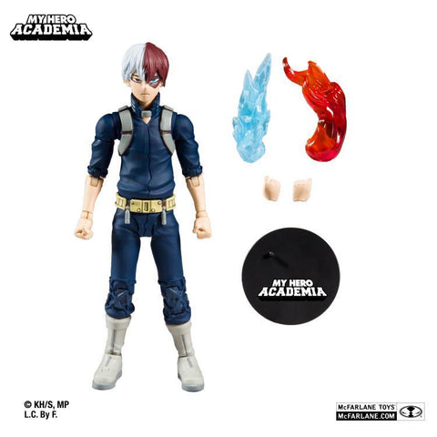 McFarlane My Hero Academia Wave 2 SHOTO TODOROKI