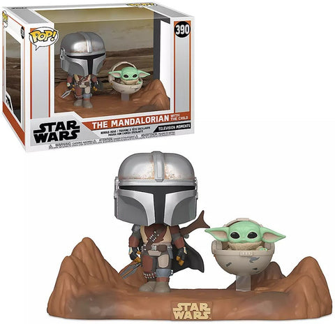 Pop! MANDALORIAN & CHILD Movie Moments (Available for Pre-Order)