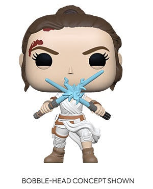 Pop! Star Wars REY w/2 LIGHTSABERS (SW Ep 9)(Available for Pre-Order)