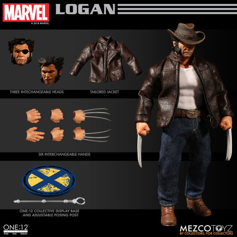 Mezco One:12 Collective LOGAN - Brads Toys
