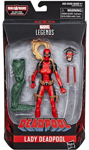 Marvel Legends LADY DEADPOOL Sauron Series