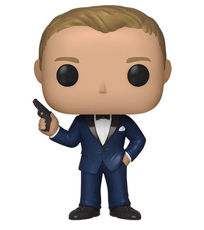 Funko Pop! Movies DANIEL CRAIG Casino Royale (James Bond) - Brads Toys