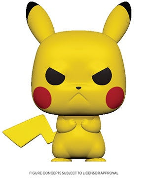 Pop! Games ANGRY PIKACHU (Pokemon S3)(Available for Pre-Order) - Brads Toys