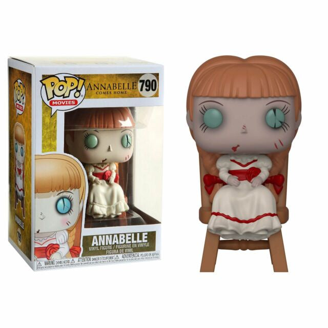 Funko Pop! Movies #790 ANNABELLE in CHAIR - Brads Toys