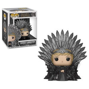 Funko Pop! Game of Thrones #73 CERSEI LANNISTER ON THRONE - Brads Toys