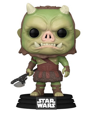 Pop! Star Wars GAMORREAN FIGHTER #406 (the Mandalorian)(Available for Pre-Order)