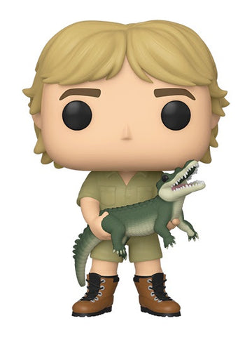 Funko Pop! TV STEVE IRWIN Common Alligator/Chase Turtle (Crocodile Hunter)