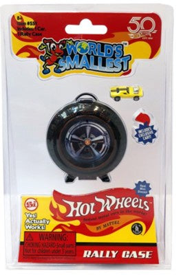HOT WHEELS RALLY CASE WORLDS SMALLEST