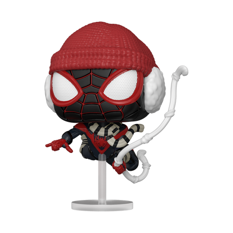 Pop! Marvel MILES MORALES Winter Suit (Spider-Man)(Available for Pre-Order)