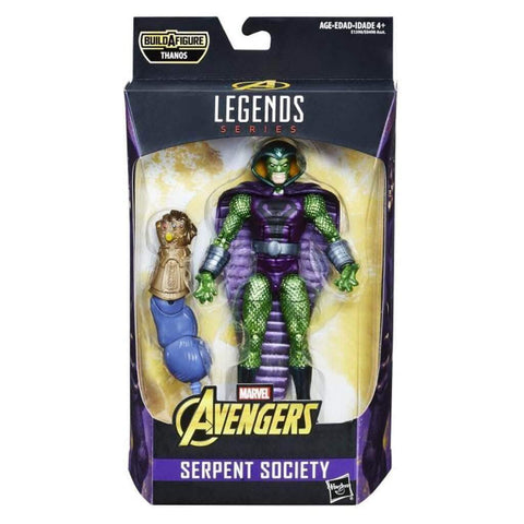 Marvel Legends SERPENT SOCIETY Thanos Series