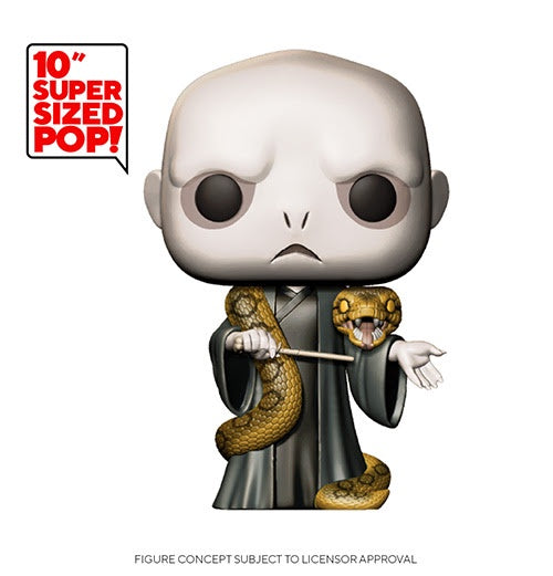 Funko Pop! Harry Potter VOLDEMORT w/NAGINI (Available for Pre-Order) - Brads Toys