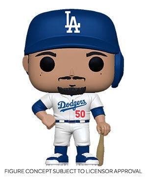 Pop! MLB MOOKIE BETTS Home Uniform (LA Dodgers)(Available for Pre-Order)