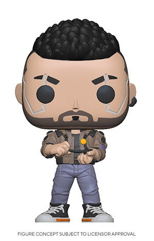 Funko Pop! Games V-MALE (Cyberpunk 2077)(Available for Pre-Order) - Brads Toys
