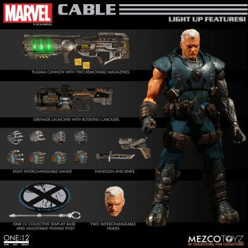 Mezco One:12 CABLE (X-Men) - Brads Toys