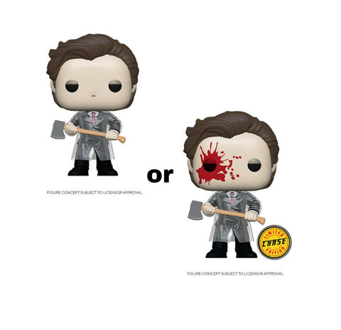 Funko Pop! Movies PATRICK w/CHASE & Axe (American Psycho)(Available for Pre-Order) - Brads Toys