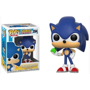 Pop! Games SONIC W/EMERALD