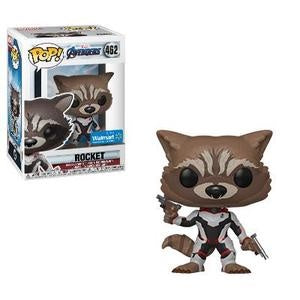 Funko Pop! Marvel #462 ROCKET RACCOON (Avengers Endgame) Walmart Exclusive - Brads Toys