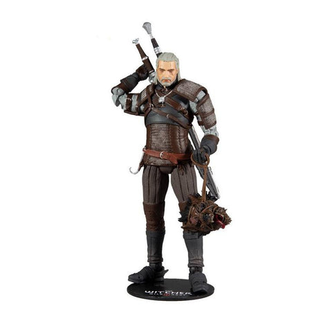 MF13401 The Witcher 3: The Wild Hunt Geralt of Rivia Series 1 Figure