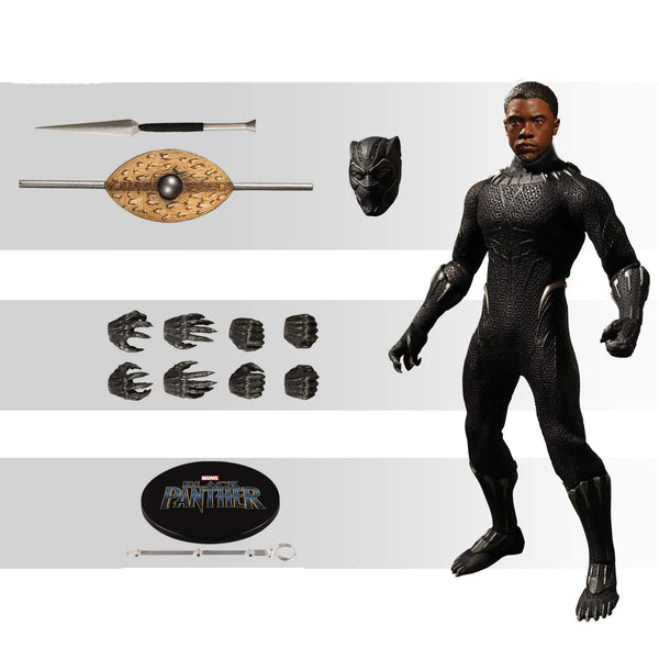 Mezco One:12 Collective Marvel BLACK PANTHER - Brads Toys