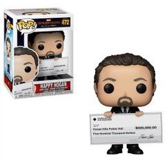 Funko Pop! Marvel #472 HAPPY HOGAN (Spider-Man Far From Home) - Brads Toys