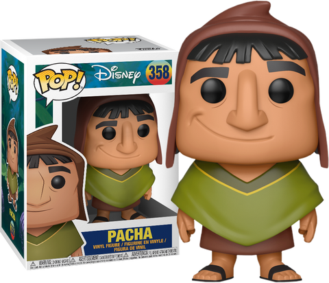 Funko Pop! Disney #358 PACHA (The Emperor's New Groove) - Brads Toys